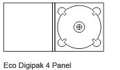 4 Panel Digipak