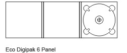 6 Panel Digipak