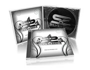 Standard jewel case cd printing and packaging