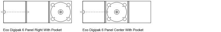 6 Panel Eco Friendly Digipaks 3