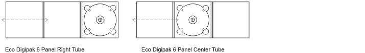 6 Panel Eco Friendly Digipaks 2